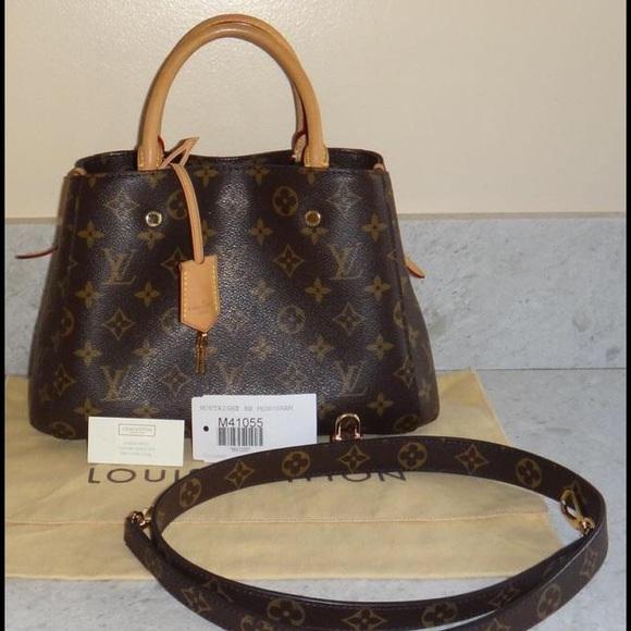 56 Off Louis Vuitton Handbags Lv Monogram Montaigne Bb