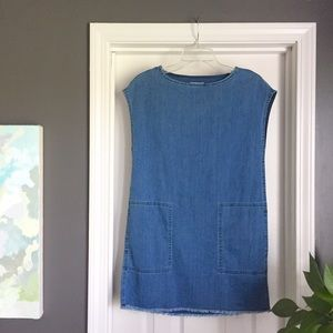 cbc2e0fe009f Aritzia Dresses - ✨NWT Aritzia Nori denim shift dress