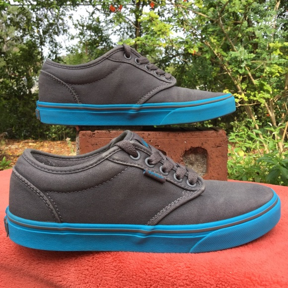 9cecef3e5baf Vans Shoes - VANS ATWOOD gray blue gum sole . eu39 w8.5 m7