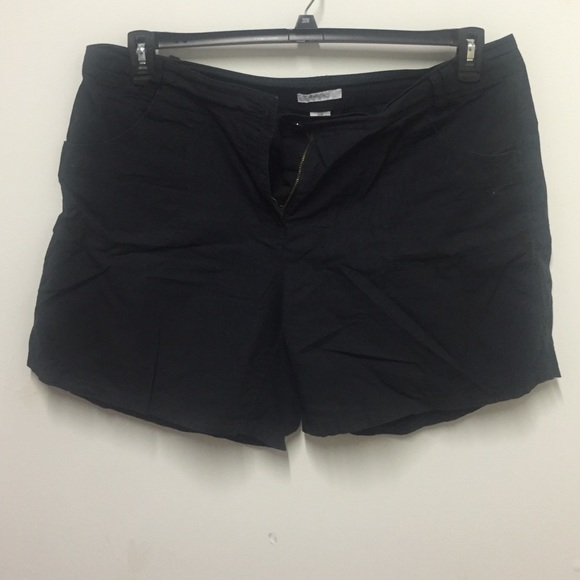 Dress Barn Shorts Black Plus Size Poshmark