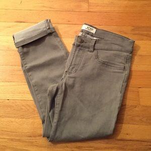Joe Fresh Pants - Gray Joe Fresh Skinny Capris