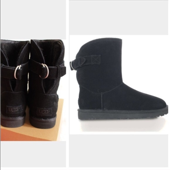 eb09dac4b5d UGG authentic Remora black boots Sz 7 new NWT
