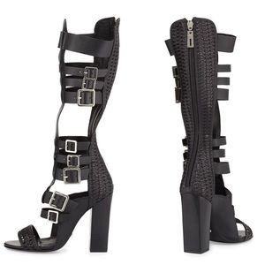Shoes - ♡ SCHUTZ Yvonne Tall Gladiator Sandals
