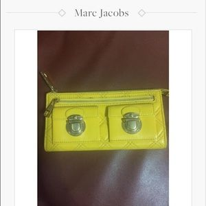 saleMarc Jacobs classic quilted clutch wallet