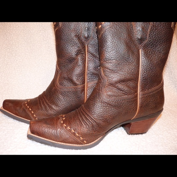 45% off Ariat Shoes - Ariat Dixie Cowboy Boots Size 11 Brown Oiled