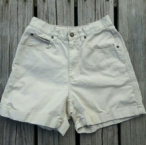 92% off Vintage Pants - Rare Vintage High Waisted Chino Shorts ...