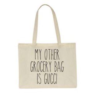 Salt Lake Clothing Handbags - Price Drop!🆕'My Other Grocery Bag is Gucci' Bag