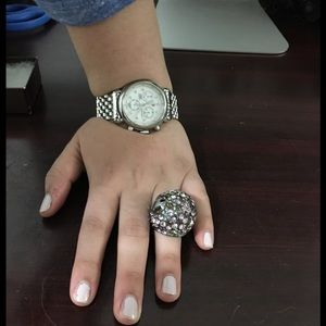 henri bendel Jewelry - Large Henri Bendel Stone ring w/ box size 7