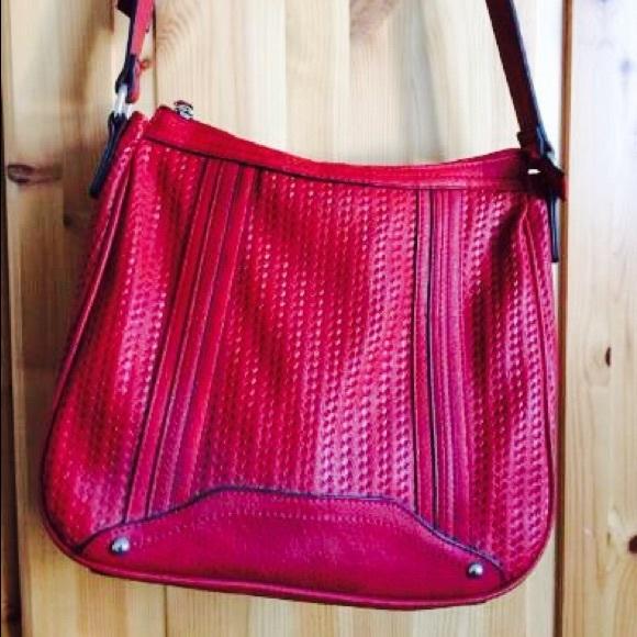 Tchibo Germany Bags - HP!🏆 Red Crossbody Bag