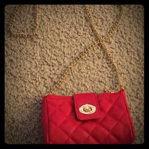 Red Forever 21 mini-bag