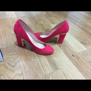 Head Over Heels Shoes - Head over Heels block women heel shoes US 7.5 red