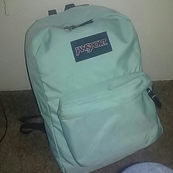 60% off Jansport Handbags - Mint Green Jansport; basic 2 pocket ...