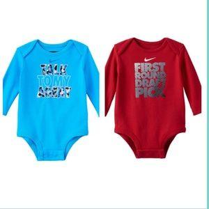 Nike Other - 🎉🎉Host Pick🎉🎉 Nike Baby Boy Body Suit Bundle
