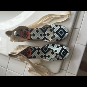 Tory Burch Shoes - Tory Burch Wedges SOLD