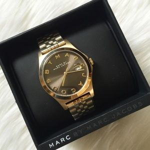 NWT Marc Jacobs Gold Authentic Watch!
