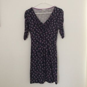 Boden printed jersey tunic dress