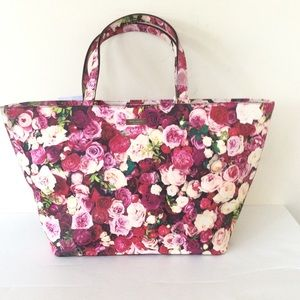 Kate Spade New York Grant Street Floral Tote Bag