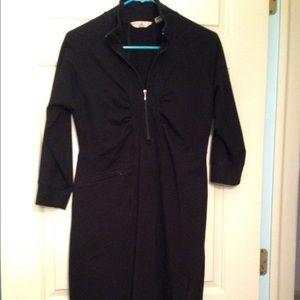 Ascend Dresses & Skirts - Ascend black cotton/spandex dress NWOT
