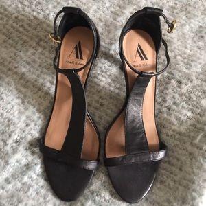 Shoes - Ava& Aiden T strap sandals