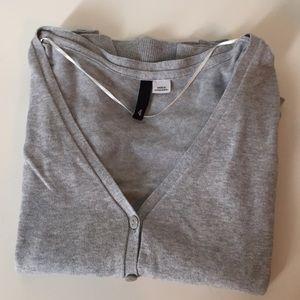 H&M Sweaters - H&M cardigan in light gray