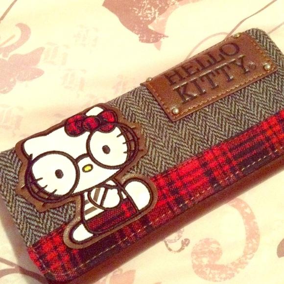 8c07406dd02c Hello Kitty Handbags - Hello Kitty Nerd wallet Loungefly