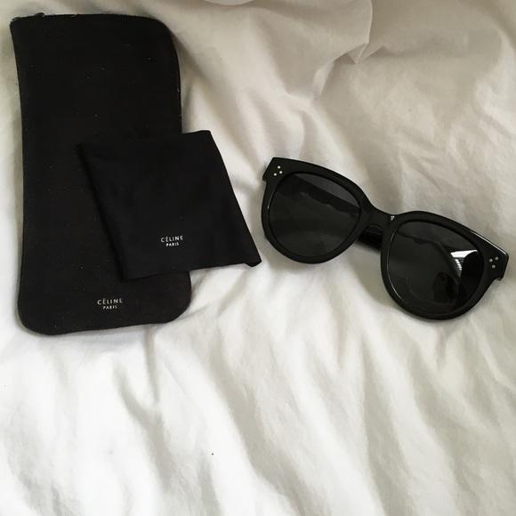 f63ae064a17 Celine Accessories - 🎉SALE!! Celine Large Black Audrey Sunglasses!