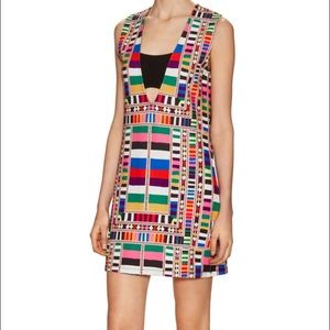 Mara Hoffman Printed bandeau shift dress
