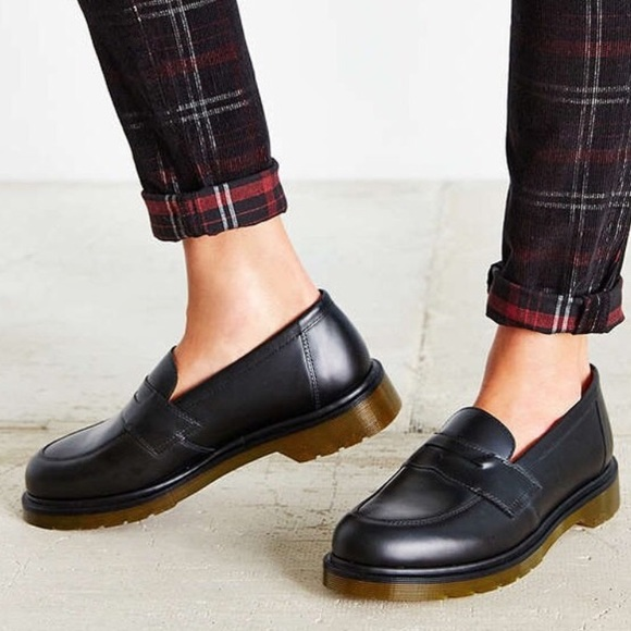 doc martens penny loafers