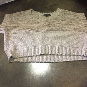 BCBGMAXAZRIA crop sweater