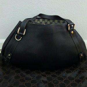 Gucci Handbags - Gucci Leather Shoulder Bag