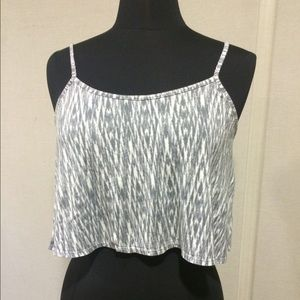 Forever 21 Tops - Super cute F21 cropped tank top.  Worn 2-3 times.
