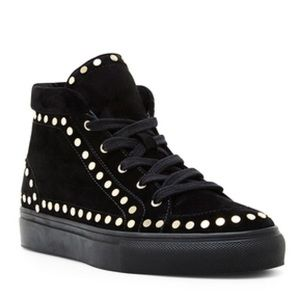 Laurence Dacade Shoes - Laurence Decade, Hugh Studded High-Top Sneaker