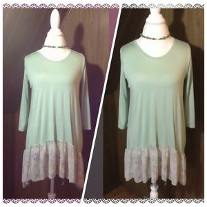 Pastels Clothing Tops - Ballerina top beautiful flowy top var sizes NWT