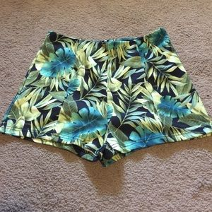 Tropical Forever 21 Shorts