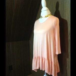 Pastels Clothing Tops - Pastels ballerina top peachy pink NWT