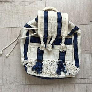 Urban Outfitters Mexican Blanket Backpack