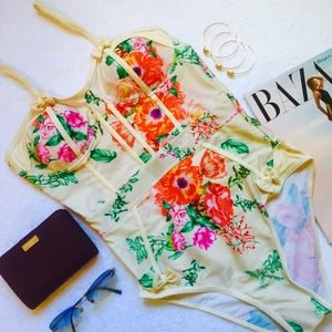 treasuresbytrac Other - 5🌟 BUYER RATED🌟 FLORAL BUSTIER STYLE SWIMSUIT