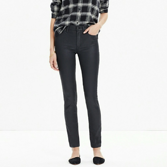 Madewell Denim - Madewell High Rise Skinny Coated Edition