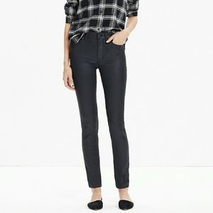 Madewell Jeans - Madewell High Rise Skinny Coated Edition