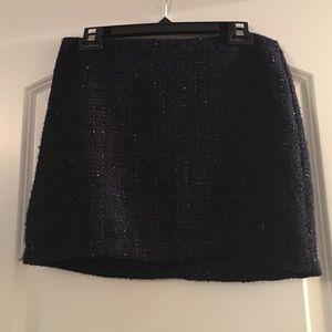 Dresses & Skirts - Navy sparkle skirt