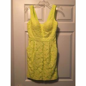 A never-worn BCBG detailed dress