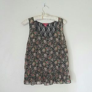 Floral Baby doll Blouse