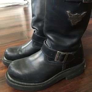 Harley Davidson Motorcycle Boots