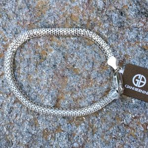 NWT $115 Sterling Silver Bracelet by Giani Bernini