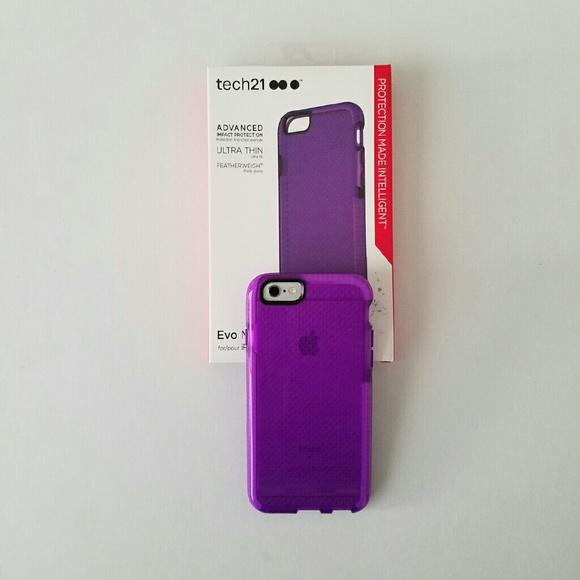 newest 83080 983da Tech21 iPhone 6 iPhone 6s Evo Mesh Case NWT