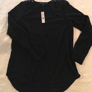 Larry Levine Tops - Lovely black blouse/shirt by Larry Levine NWT