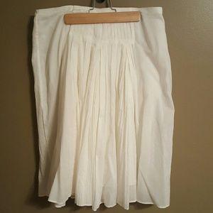 Vintage j.crew pleated skirt