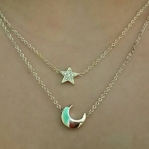 Jewelry - Star and Moon necklace
