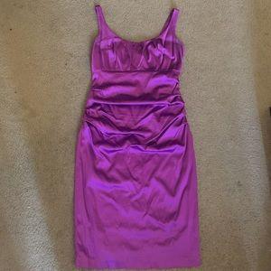 Purple cocktail dress - size 14