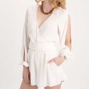 Bec & Bridge Pants - White playsuit